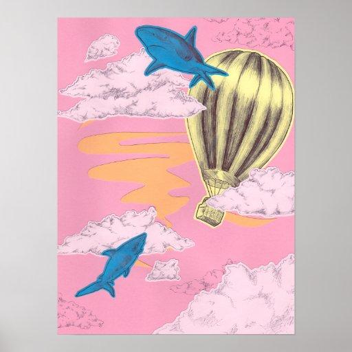 Poster de la aventura del tiburón