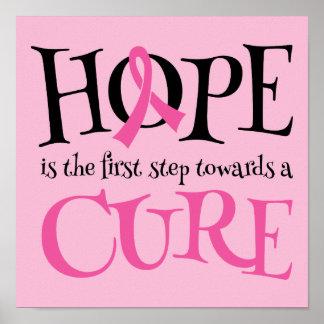 Poster de la ayuda de la curación de la esperanza
