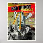 Poster de la B-Película de BADROBOT 3D