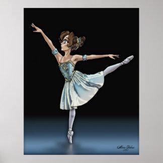 Poster de la bailarina del animado