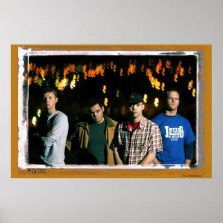 Poster de la banda de Arize