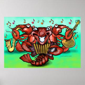 Poster de la banda de los cangrejos