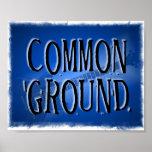 Poster de la banda del terreno común