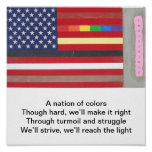 Poster de la bandera