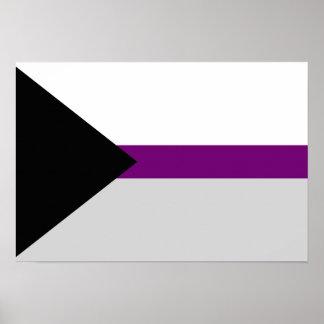 Poster de la bandera de Demisexuality