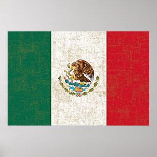 Poster de la BANDERA MEXICANA