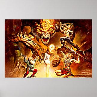 Poster de la batalla del dragón