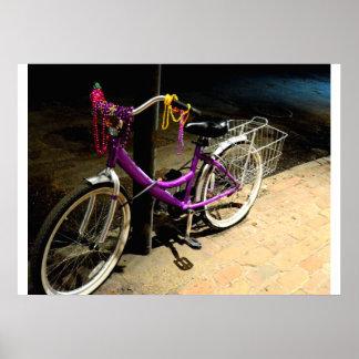 Poster de la bici de la gota del carnaval