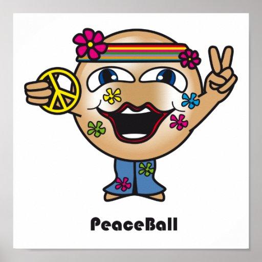 Poster de la bola de la paz
