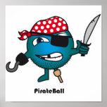 Poster de la bola del pirata