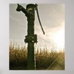 Poster de la bomba de agua del vintage el |