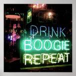 Poster de la boogie de Memphis