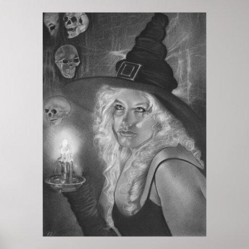 Poster de la bruja de la vigilia