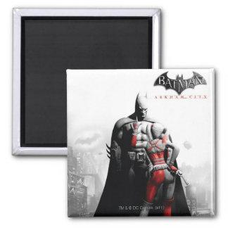 Poster de la CA - Batman y Harley Imanes