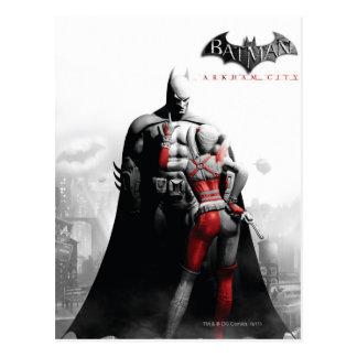 Poster de la CA - Batman y Harley Postal