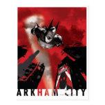 Poster de la CA - el volar de Batman Tarjeta Postal