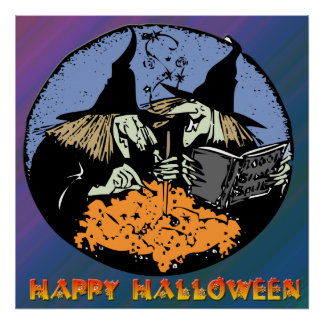 Poster de la caldera de las brujas