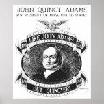 Poster de la campaña de John Quincy Adams 1824