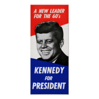 Poster de la campaña de Kennedy Póster
