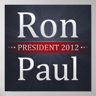 Poster de la campaña de Ron Paul 2012 Póster