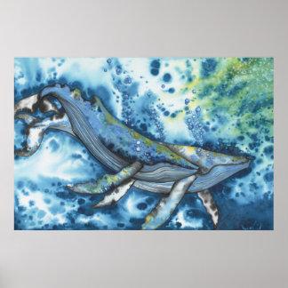 Poster de la canción de amor de la ballena