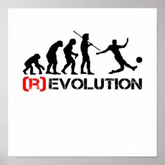 Poster de la carta de la evolución/de la revolució