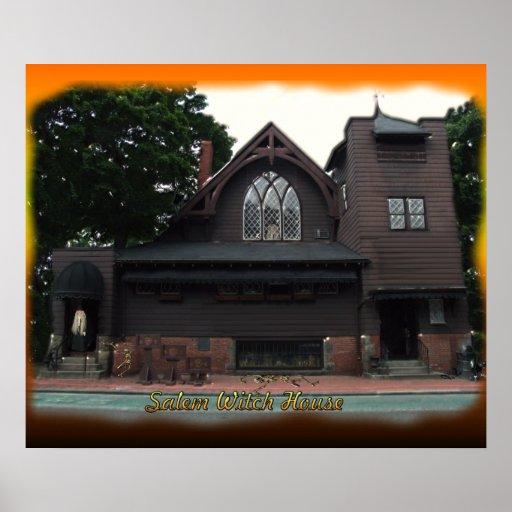 Poster de la casa de las brujas de Salem