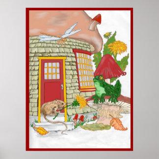 Poster de la casa del ratón