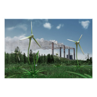 Poster de la central de energía 3