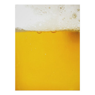 Poster de la cerveza