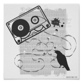 Poster de la cinta de casete