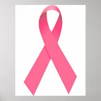 Poster de la cinta de la conciencia del cáncer de