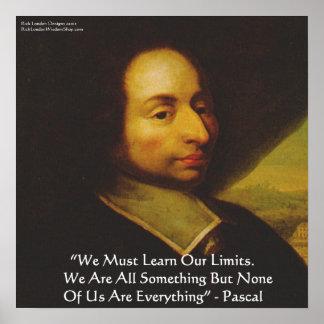Poster de la cita de la sabiduría de los límites d