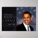 Poster de la cita de Obama