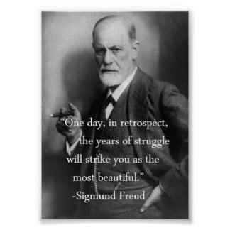 Poster de la cita de Sigmund Freud