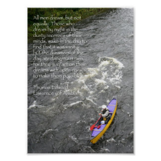 Poster de la cita de TE Lorenzo - batimiento del V