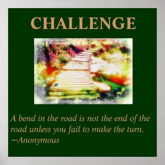 Poster de la cita del desafío póster