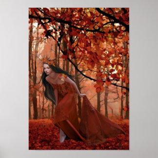 Poster de la cita del otoño