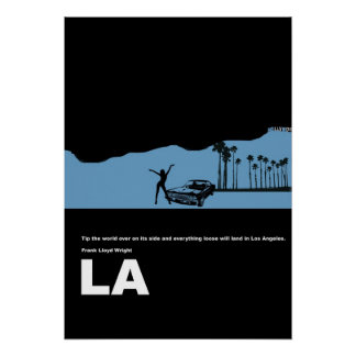 Poster de la ciudad de Los Ángeles