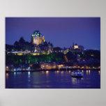 Poster de la ciudad de Quebec de la noche del cast