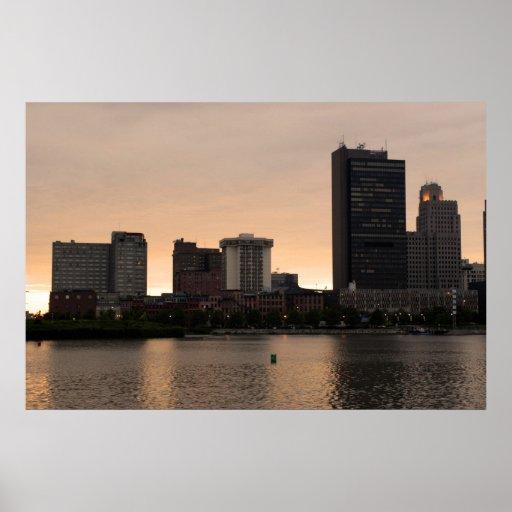Poster de la ciudad de Toledo Ohio