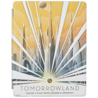 Poster de la ciudad de Tomorrowland Cubierta De iPad