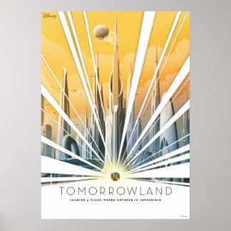Poster de la ciudad de Tomorrowland Póster
