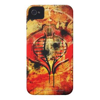 Poster de la cobra Case-Mate iPhone 4 protectores