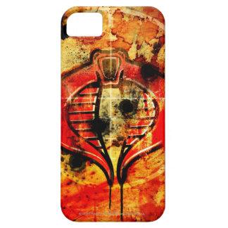 Poster de la cobra iPhone 5 carcasa