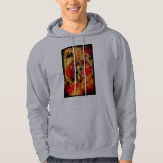 Poster de la cobra suéter con capucha
