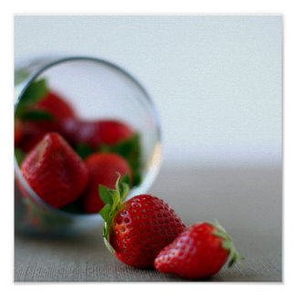 Poster de la colección de la fresa del verano
