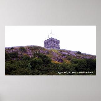 Poster de la colina de la señal
