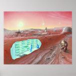 Poster de la colonia de Marte