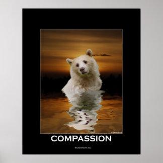Poster de la COMPASIÓN (oso del alcohol)